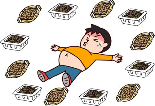 納豆 食べ 過ぎる と